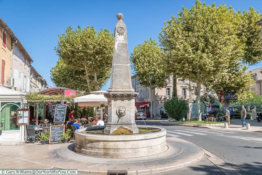 The fountain, St Remy-de-Provence, France
