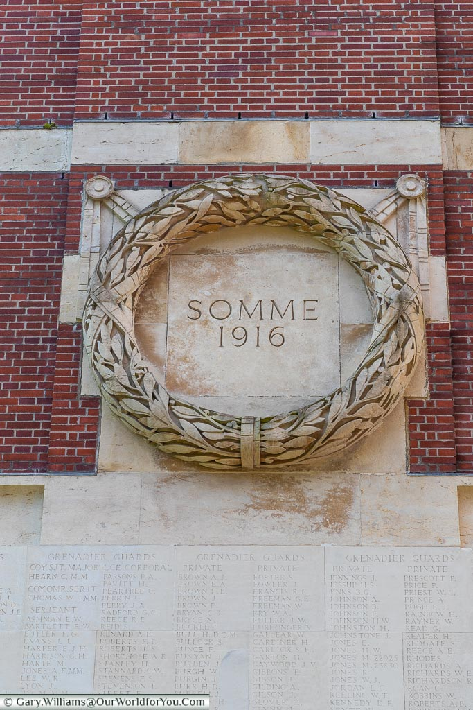 Wreath of the Somme 1916, Thiepval, France