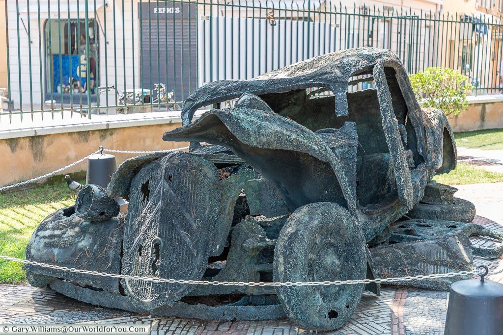 A Citroen exhibit, St Tropez, France