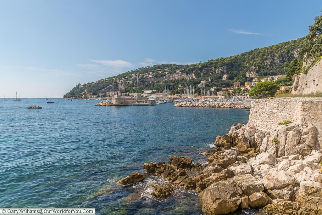 Around the Citadel wall, Villefranche-sur-Mer, France