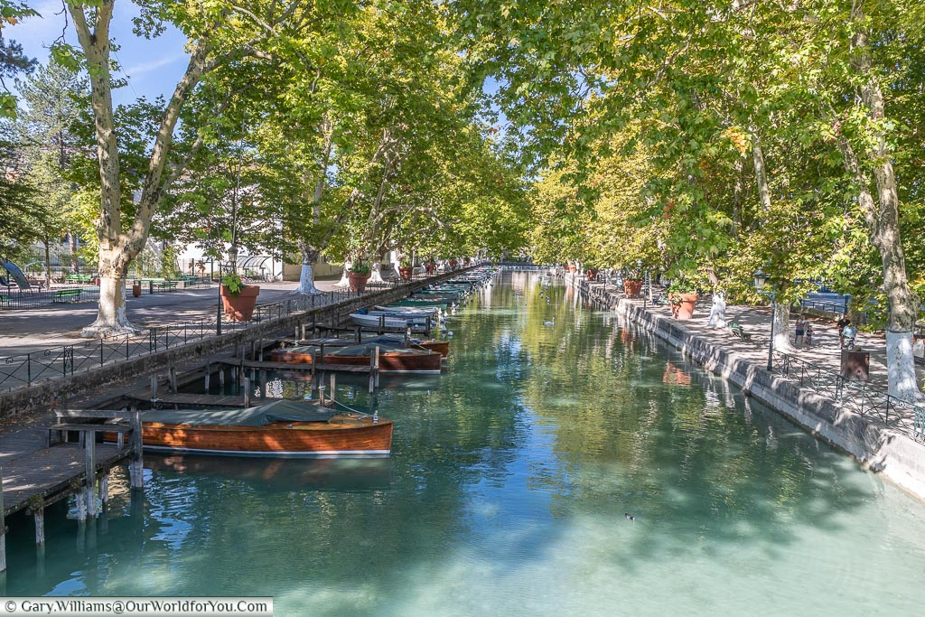Canal de Vassé, Annecy, France