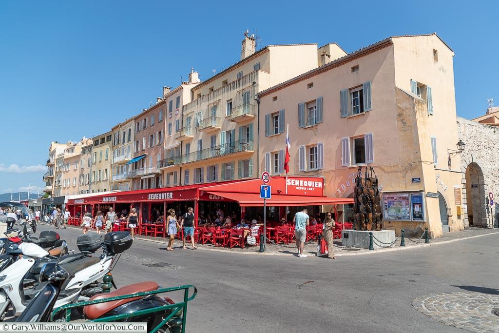 Quai Jean Jaures, St Tropez, France