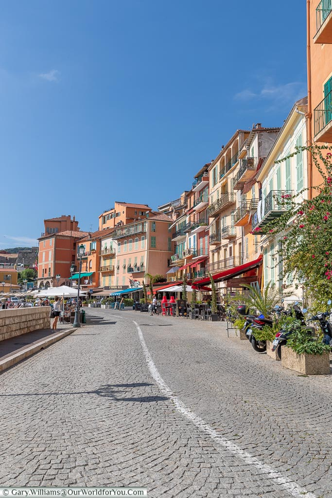The quayside, Villefranche-sur-Mer, France