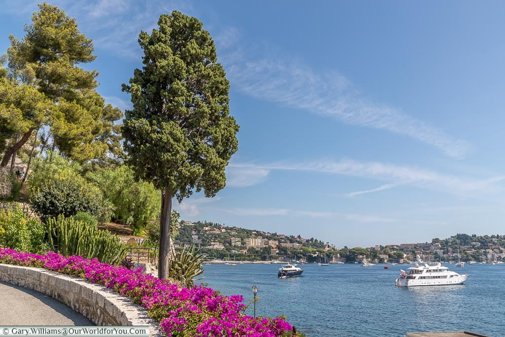 The view from the castle, Villefranche-sur-Mer, France