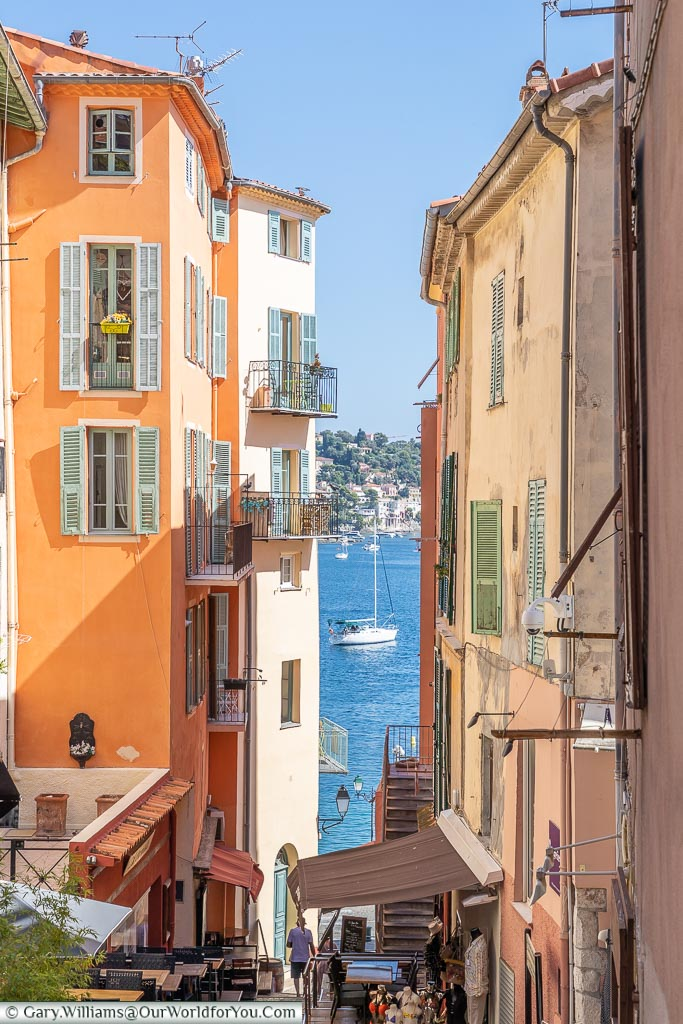 The view to the bay, Villefranche-sur-Mer, France