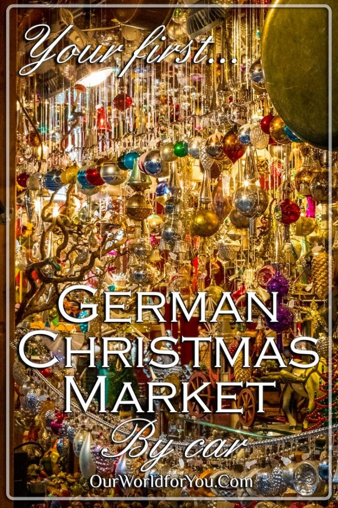 Your first German Christmas Market by car