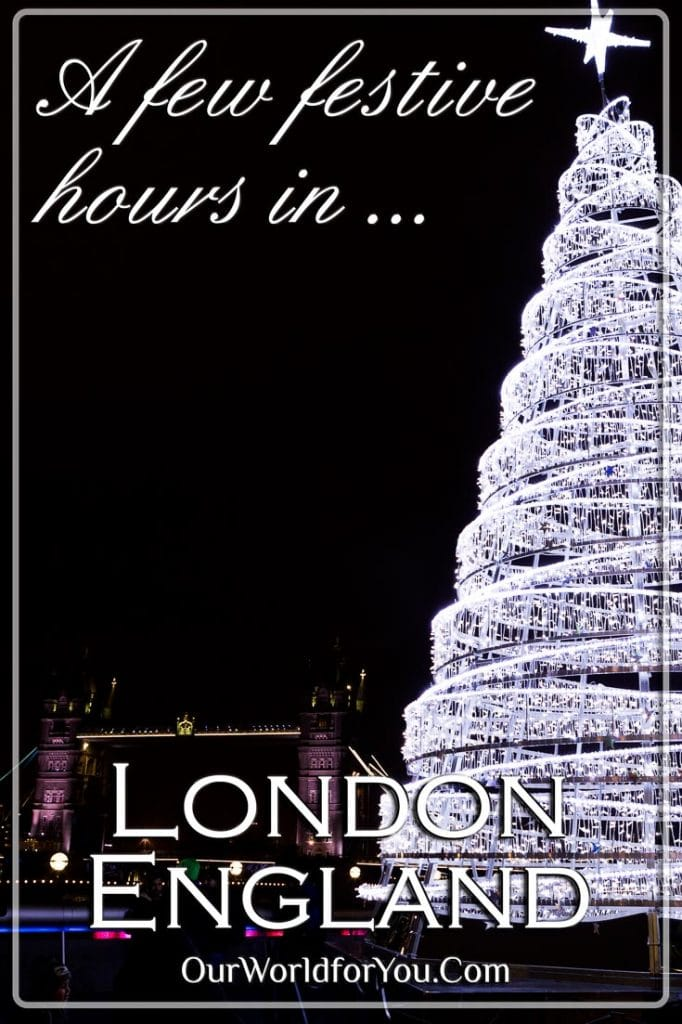 A few festive hours in London - Pinterest