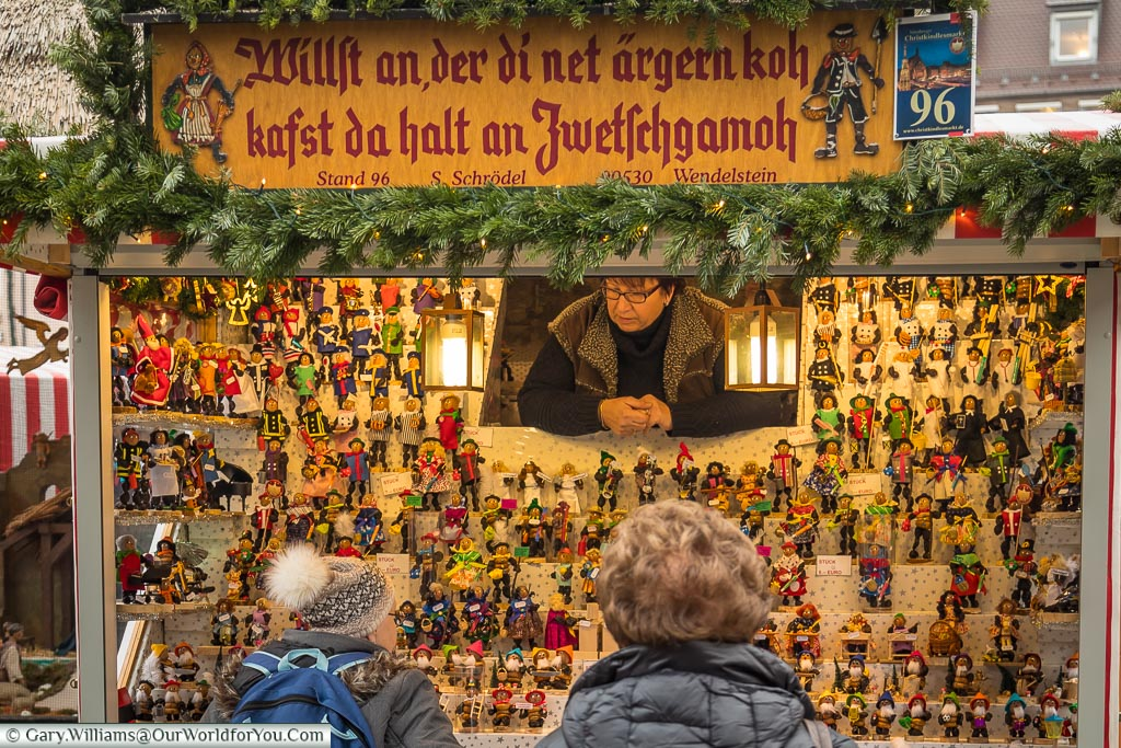 A stall with history, Nuremberg, Germany