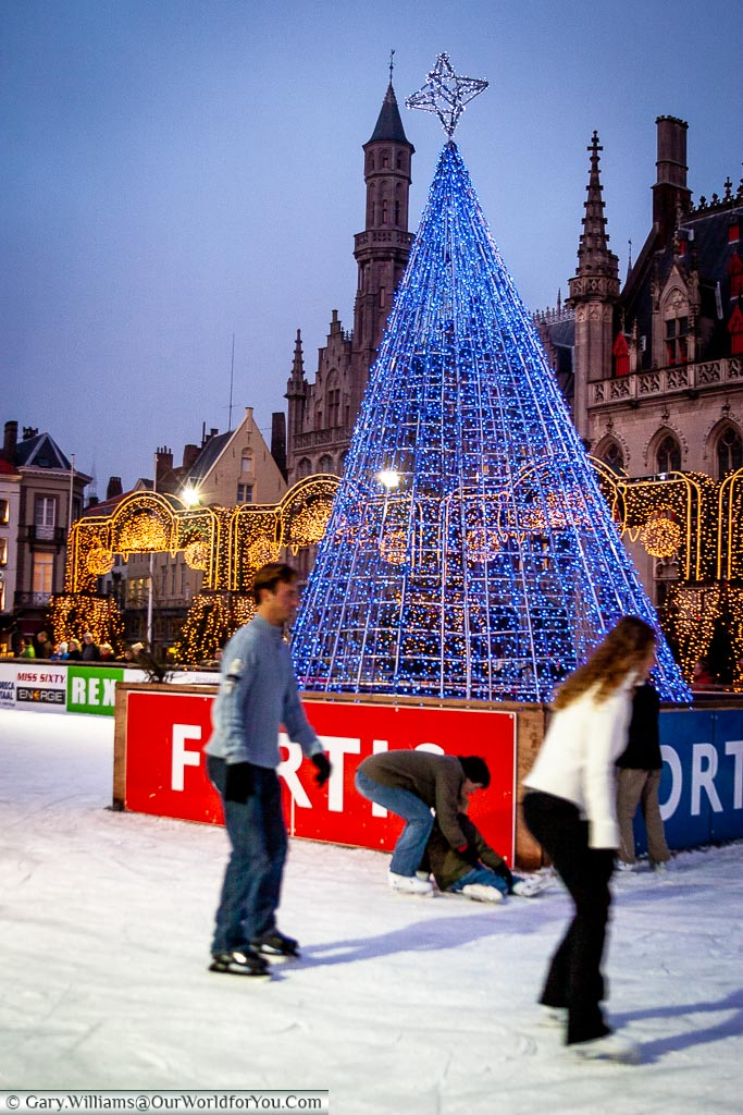 All abilities on the ice, Bruges, Belgium