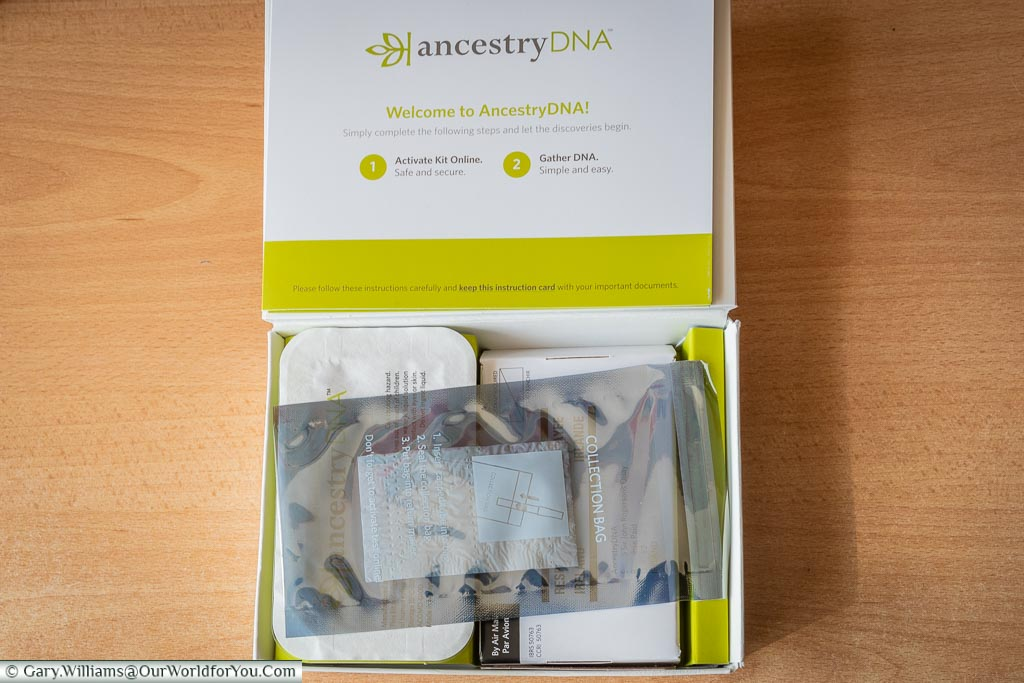 The Ancestry DNA Kit
