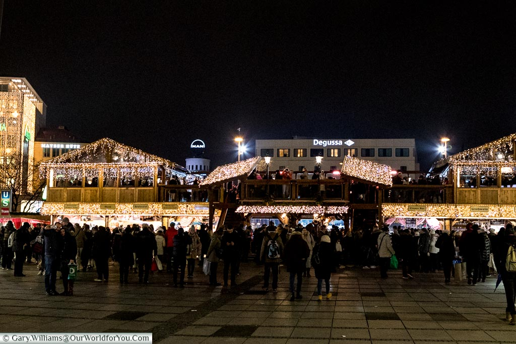 Around the ice rink, Munich, Germany