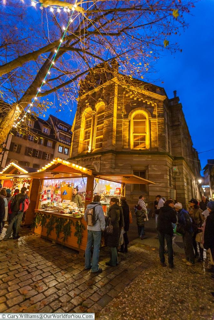 Christmas Market of the Three Magi, Christmas, Strasbourg, France
