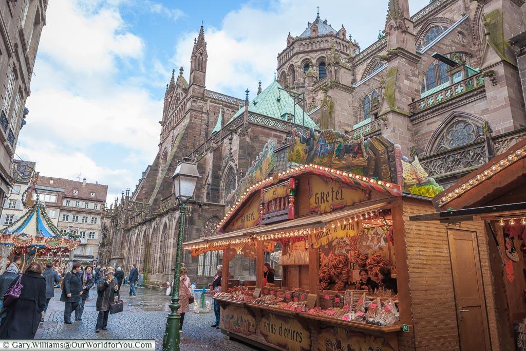 Hansel and Gretel, Christmas, Strasbourg, France