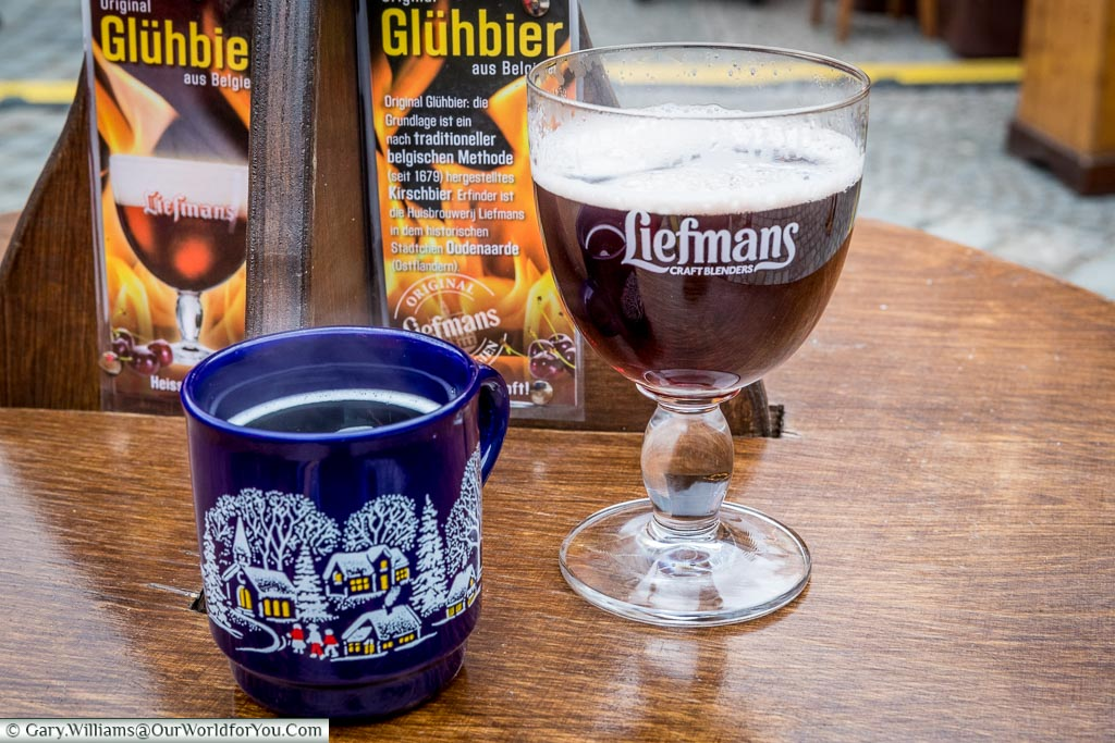 Hot wine and beer, Munich, Germany