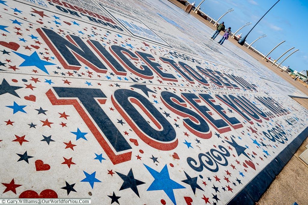 Nice to See You, Blackpool, Lancashire, England, UK