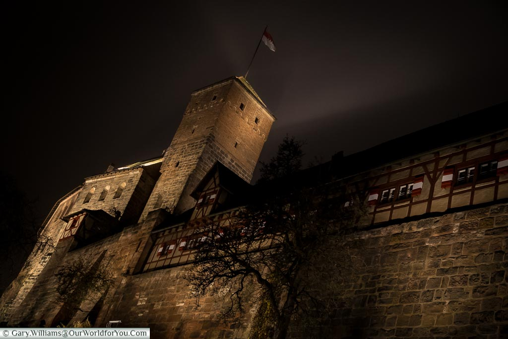 The castle on high, Nuremberg, Germany