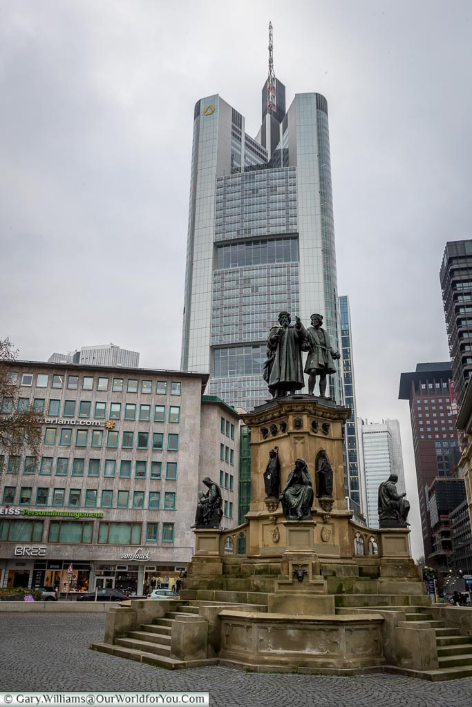 The centrepiece of Roßmarkt, Frankfurt, Germany