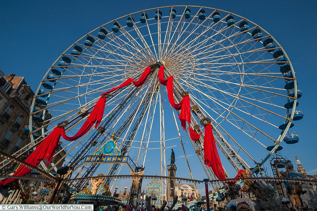 The ferris wheel, Lille, France