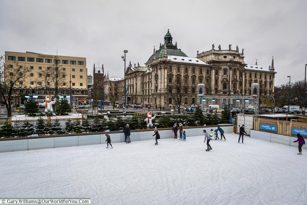 The ice rink, Munich, Germany