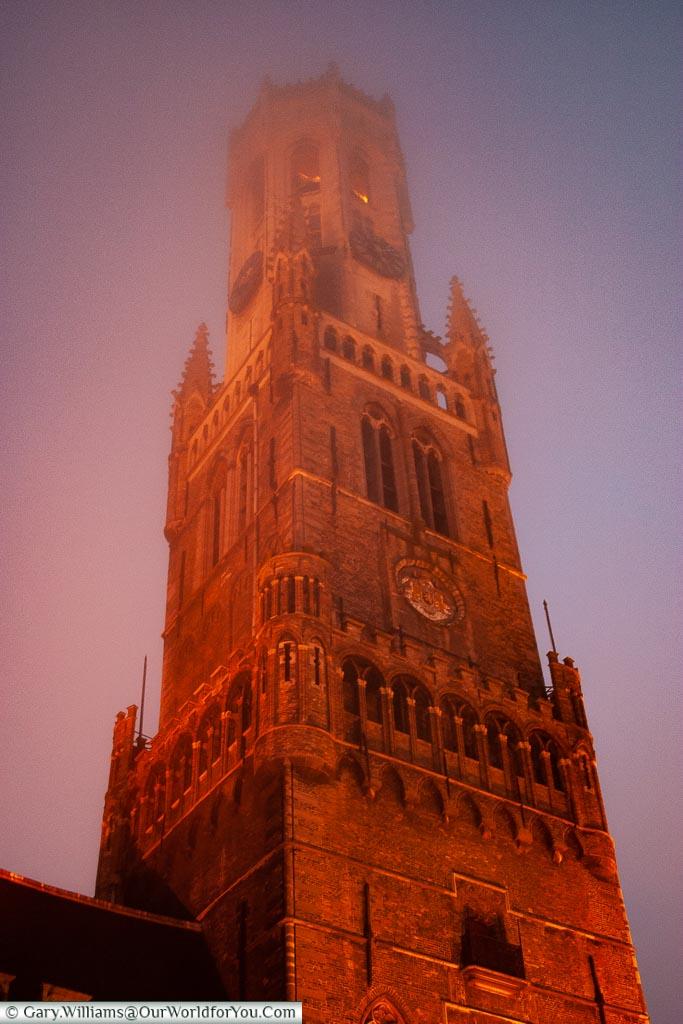 The watchtower, Bruges, Belgium