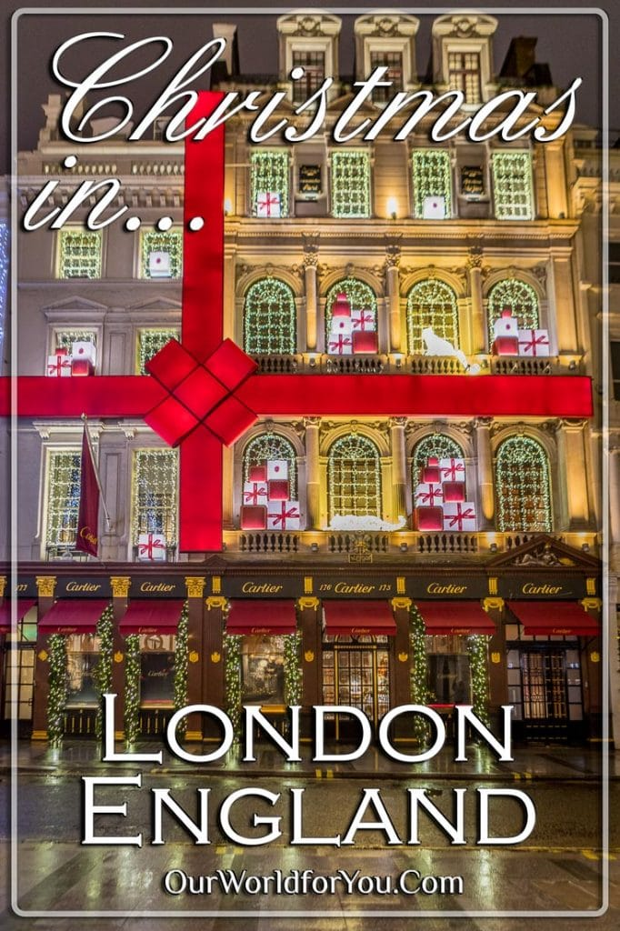 Things to do in London at Christmas