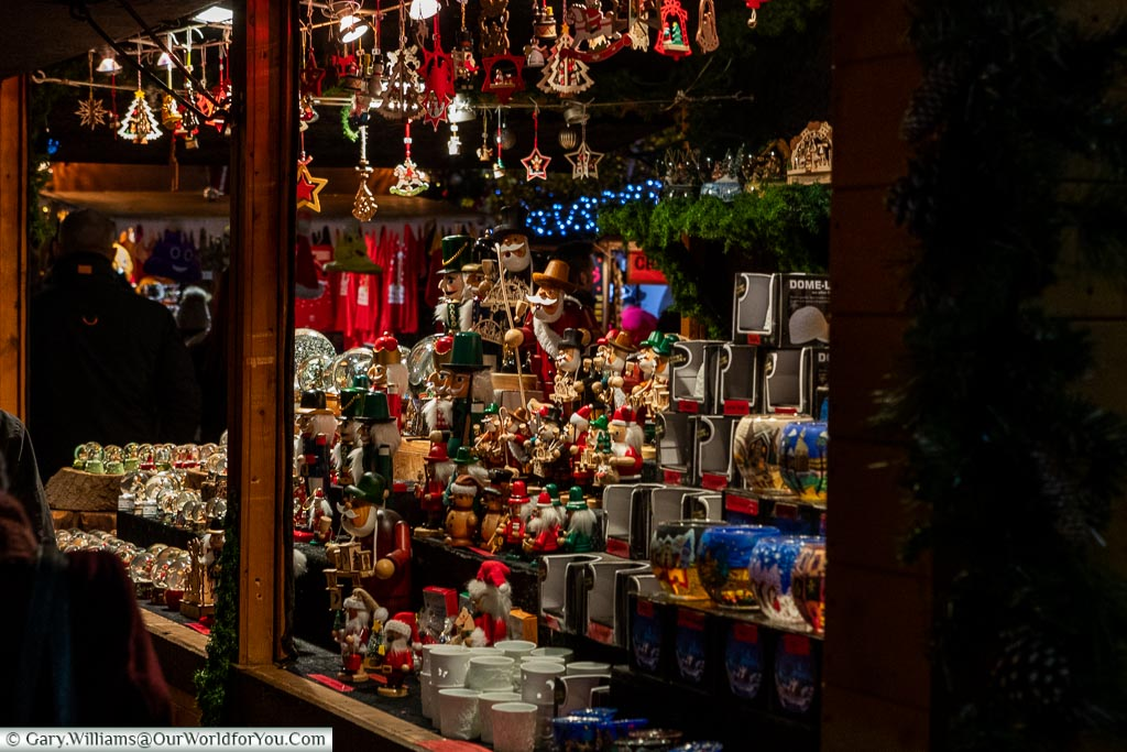 Traditional gifts, London at Christmas, UK