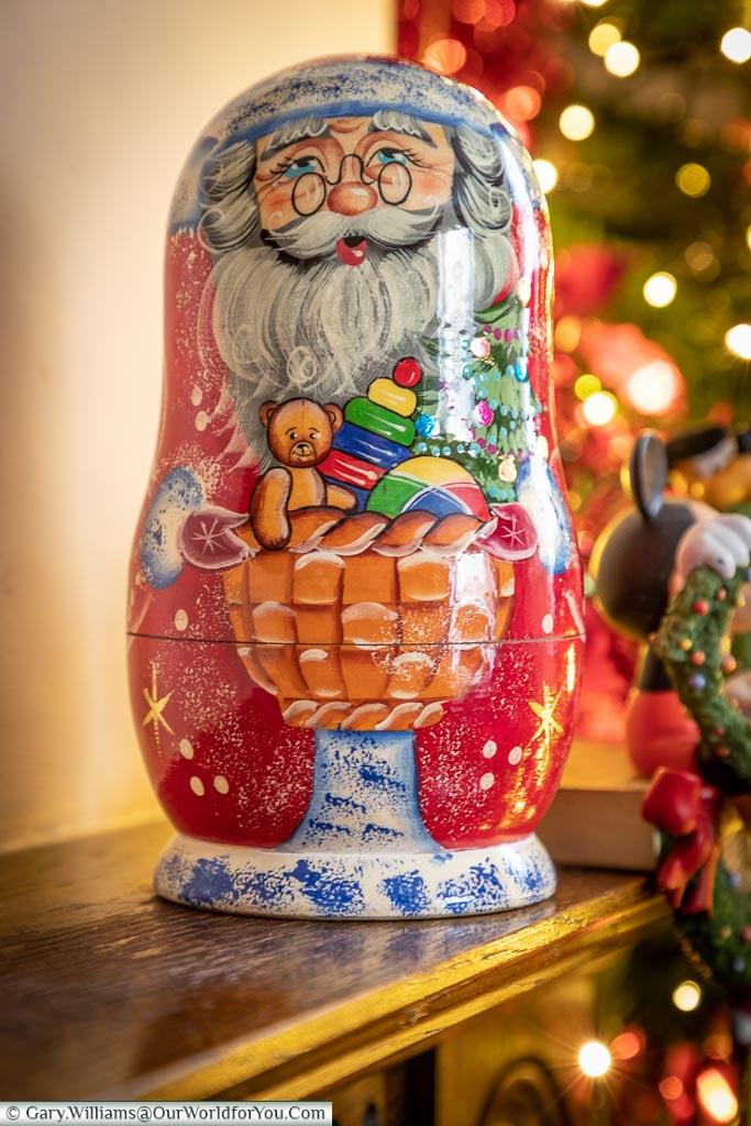Estonian Santa doll