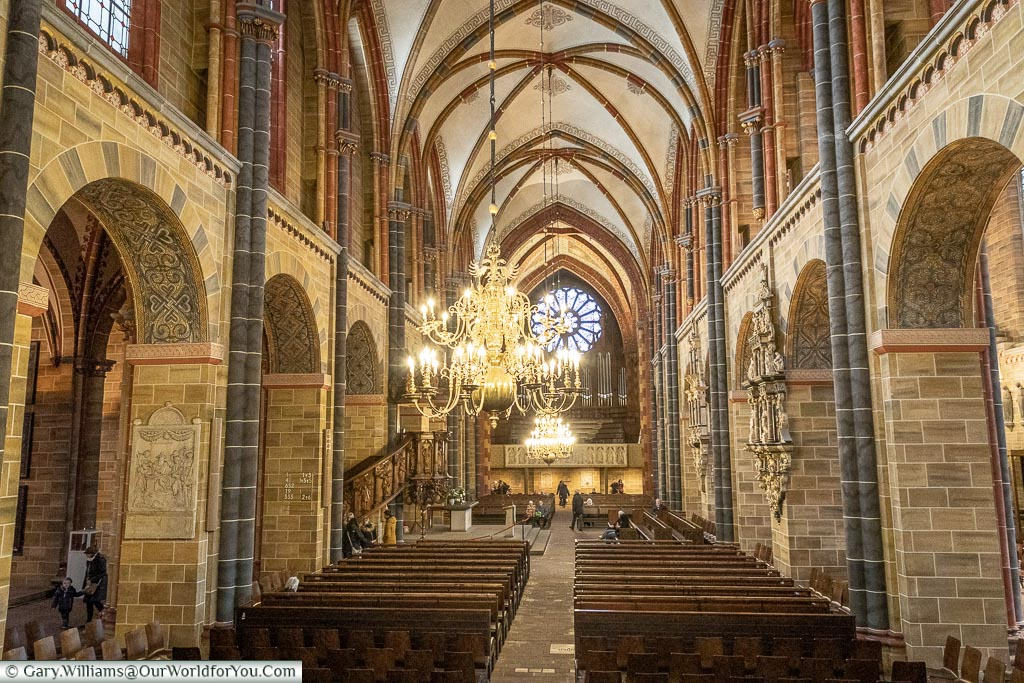 Interior of the Cathedral, Bremen, German Christmas Markets, Germany