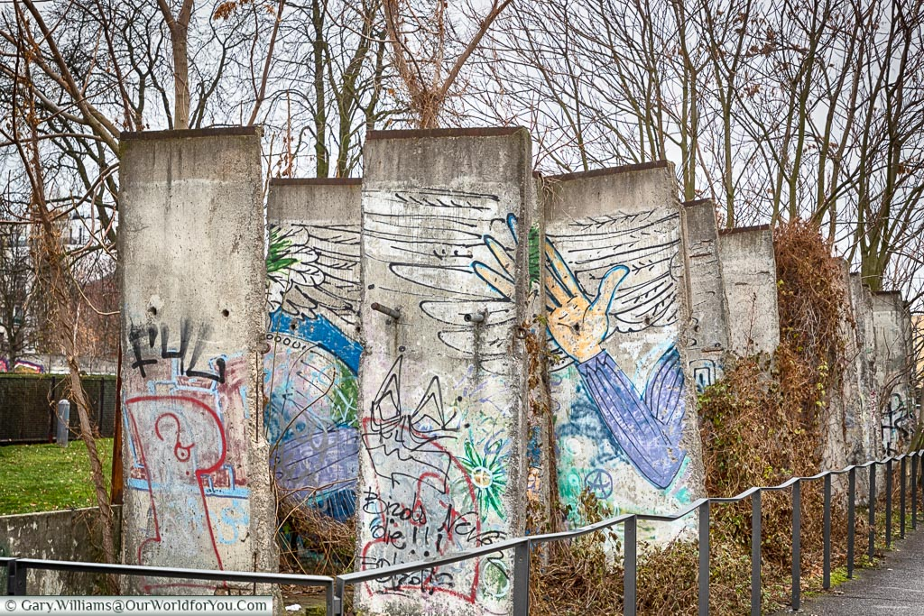 Sections from the Berlin Wall, Berlin German Christmas Markets