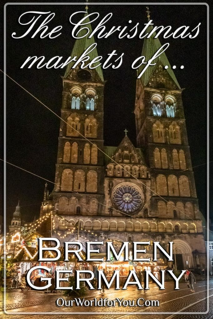 The pin Image for our post - 'Bremen at Christmas'