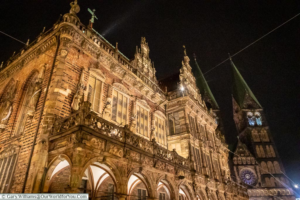 The Rathaus, Bremen, German Christmas Markets, Germany