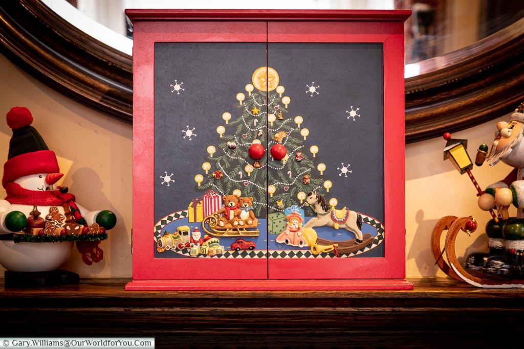 The closed Advent Calendar
