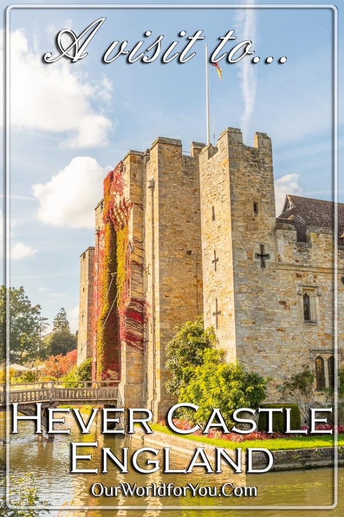 A visit to Hever Castle, Kent, England