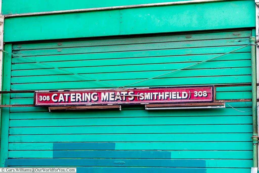 Catering Meats (Smithfield), Smithfield, London, England, UK