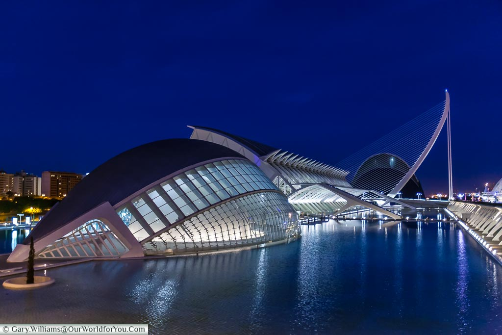 Hemisferic, City of Arts & Science, Valencia, Spain
