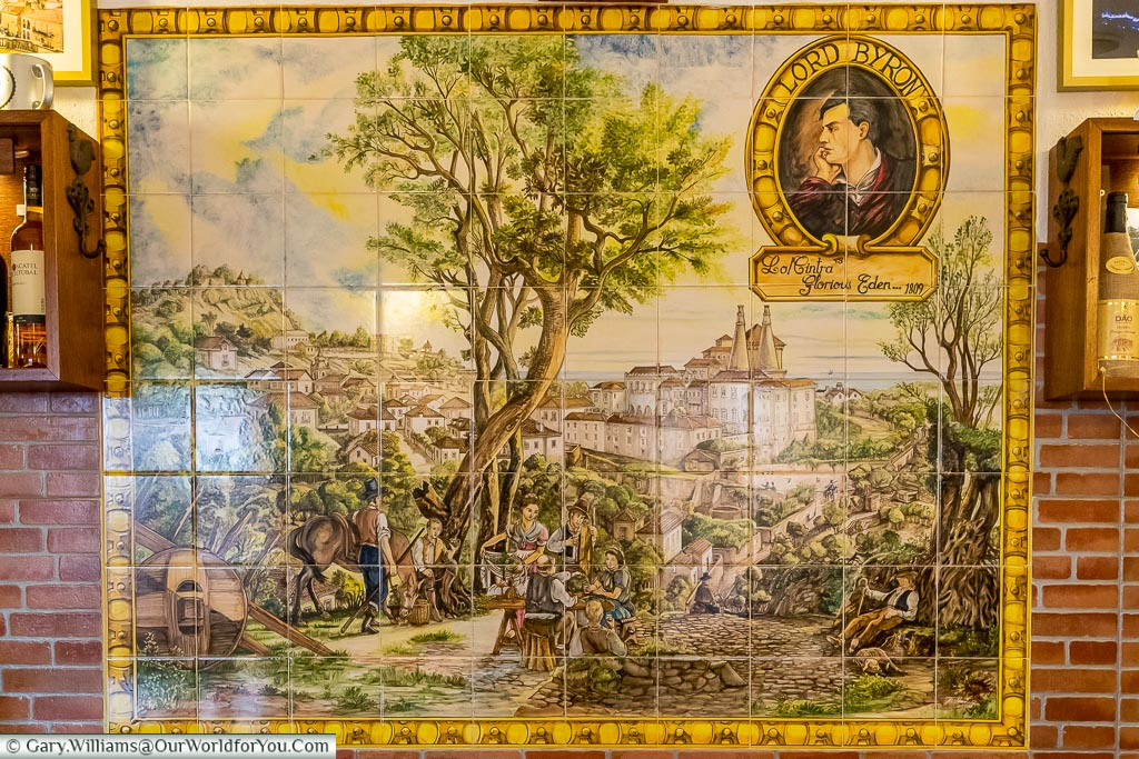 Inside the Cantinho do Lord Byron, Sintra, Portugal