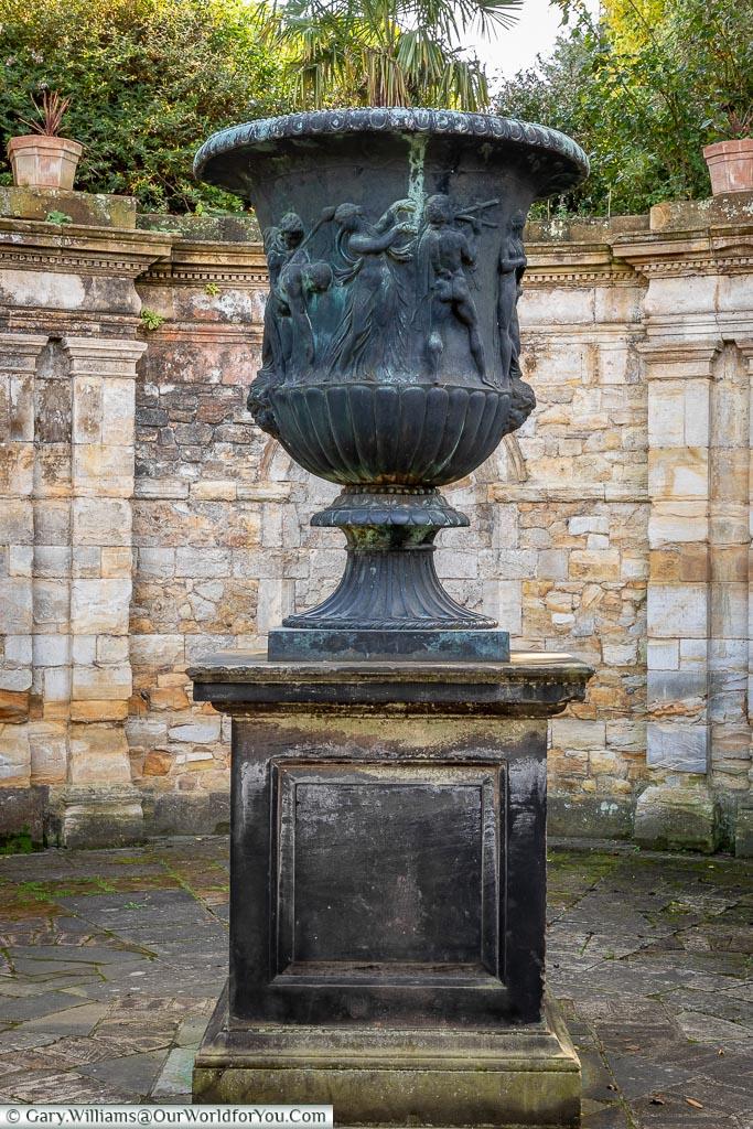 Italian Urn, Hever Castle, Kent, England
