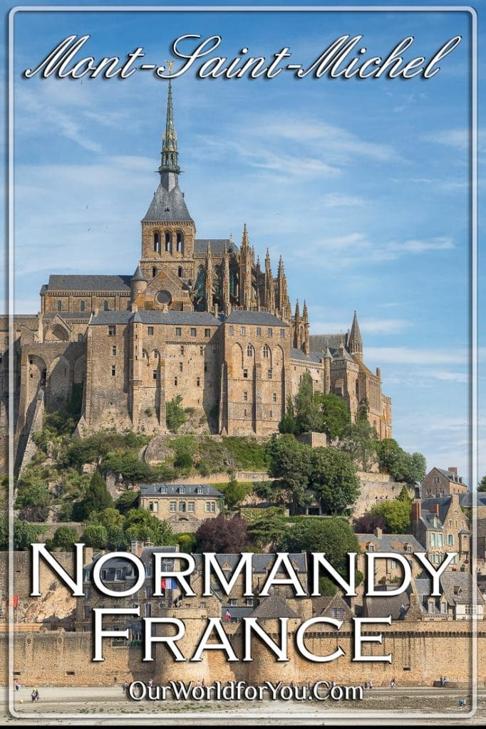 The Pin image of our post 'Le Mont-Saint-Michel, Normandy, France'