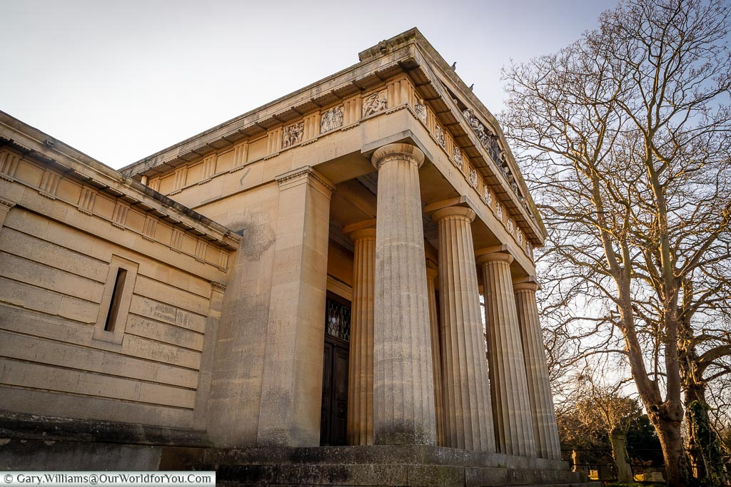 The Greek Necropolis, West Norwood Cemetery, London