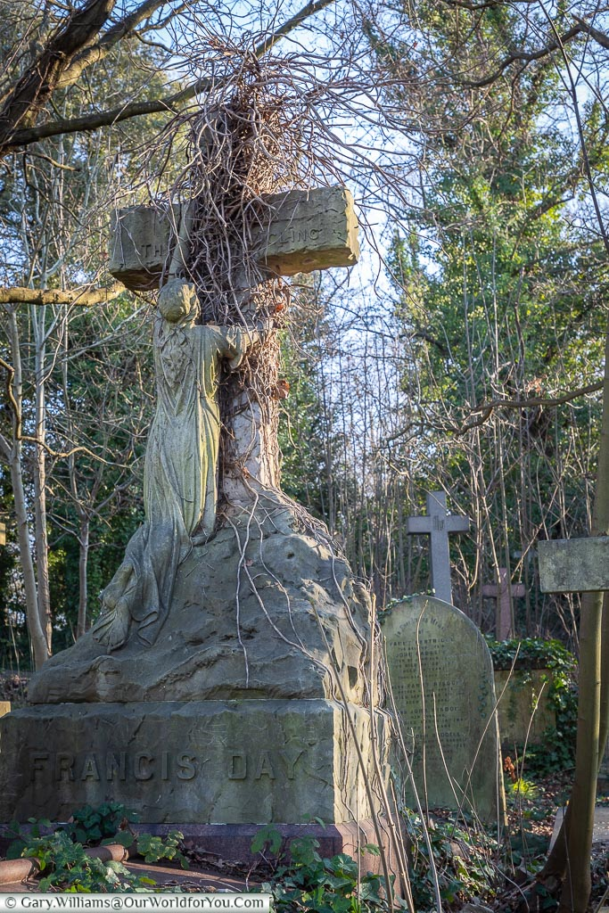 The grave of Francis Day, West Norwood Cemetery, London