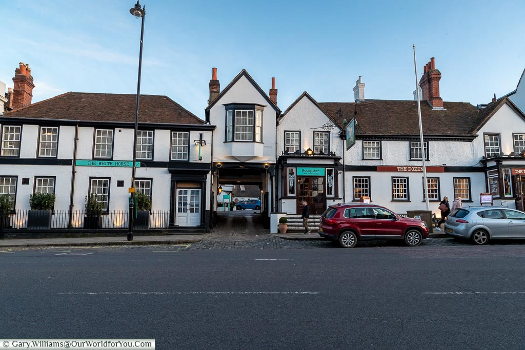 A central location, The White Horse, bespoke hotels, Dorking, Surrey, England, UK