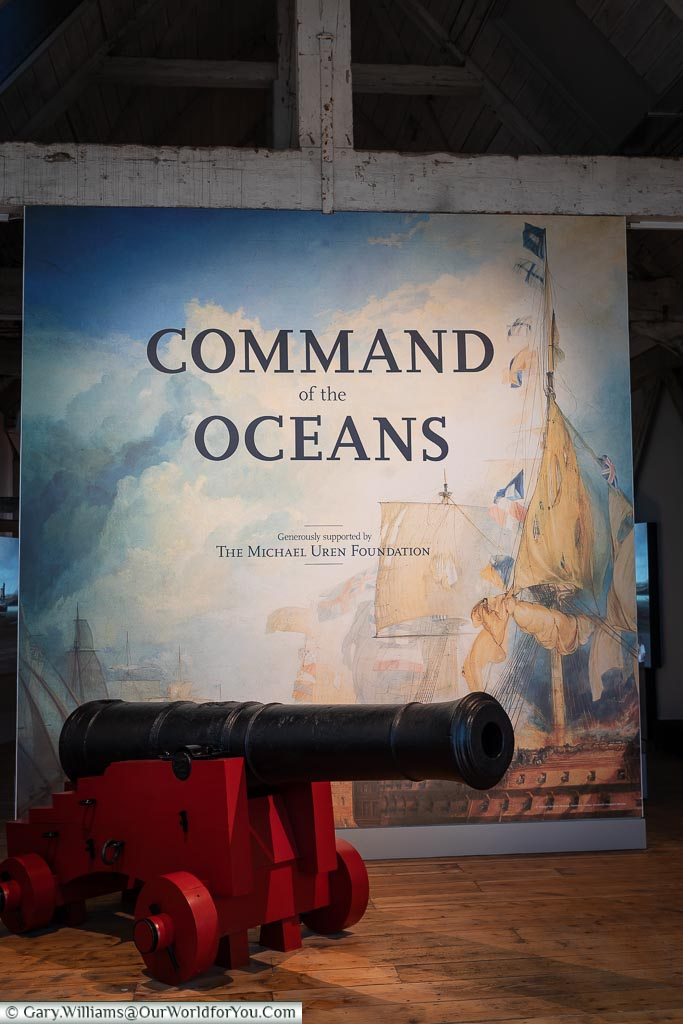 Command of the Oceans, Historic Chatham Dockyard, Kent, England, UK