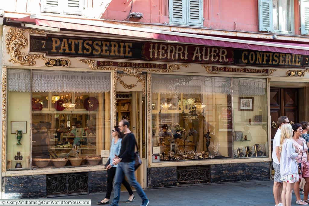 Confiserie 'Henri Auer', Nice, France