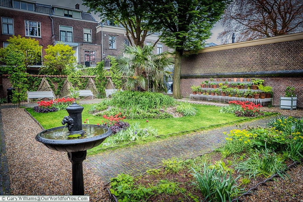 Floras Hof, Utrecht, Holland, Netherlands
