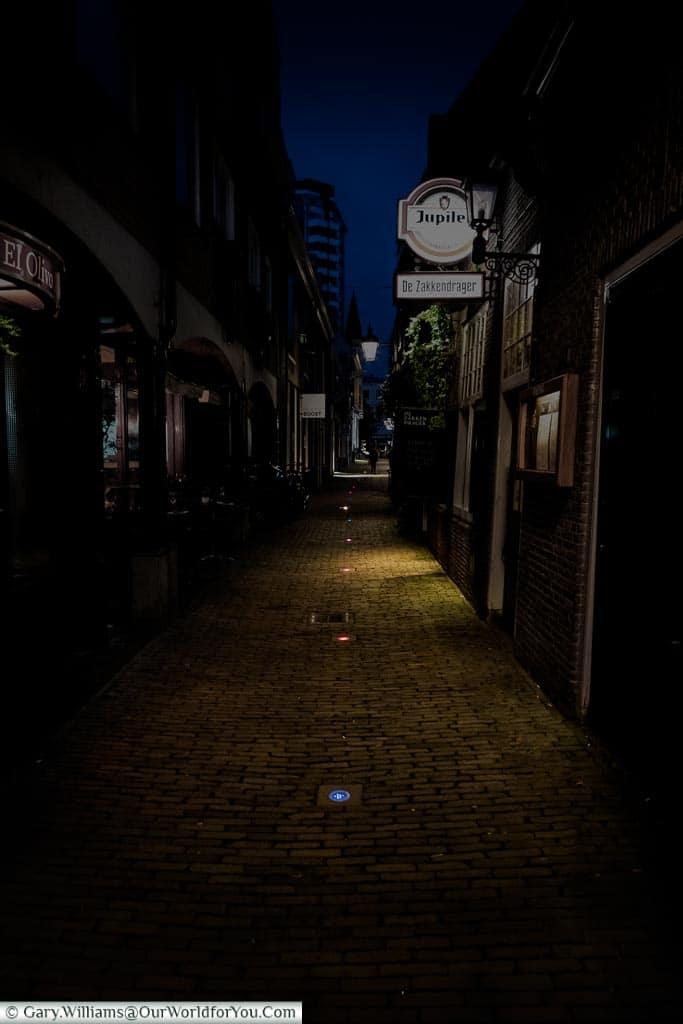 Follow the lights, Trajectum Lumen, Utrecht, Netherlands