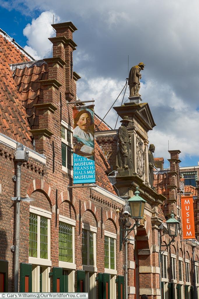 The Frans Hals Museum,  Holland, Netherlands