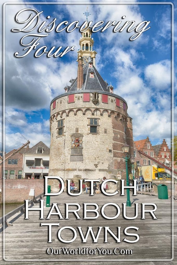 Hoofdtoren - the first line of defense in Hoorn, Holland, Netherlands