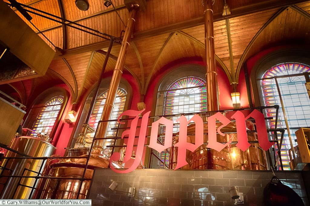 Inside Jopenkerk, Haarlem, Holland, Netherlands
