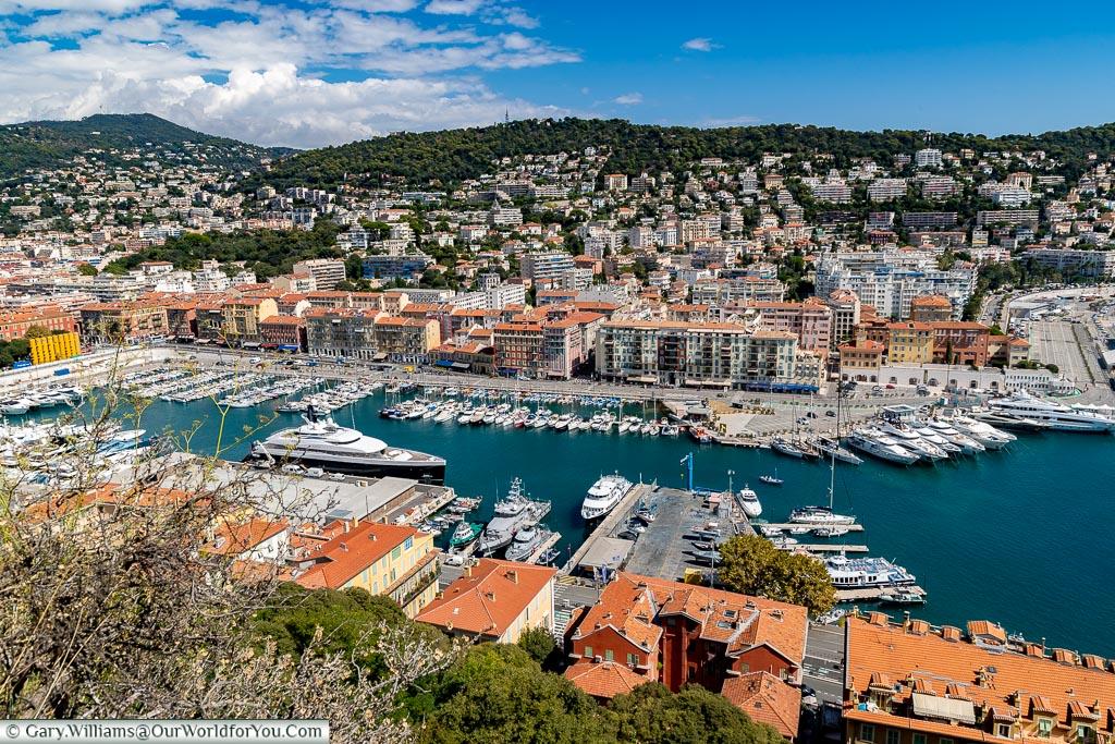 Nice harbour, Nice, France