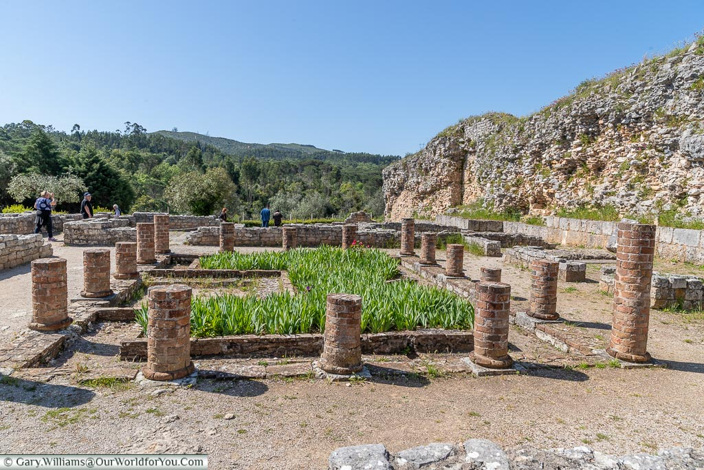 Roman settlement of Conímbriga, Portugal
